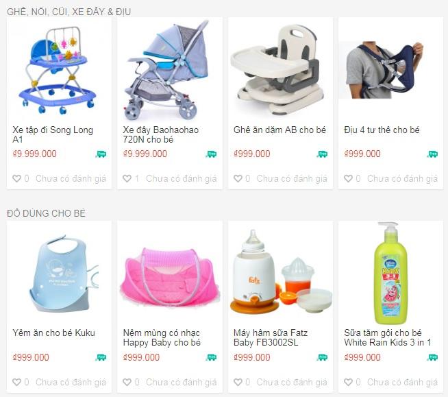 Hướng dẫn cách đăng bán sản phẩm Shopee ngành Mẹ và Bé trên Shopee magiamgiashopee.com