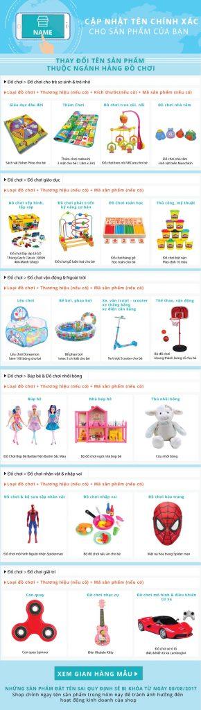 Hướng dẫn đăng bán sản phẩm đồ chơi trên Shopee