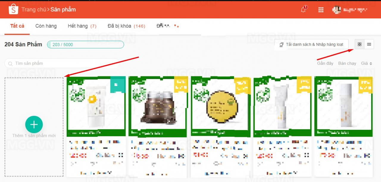 Hướng dẫn đăng tải sản phẩm lên shopee bán hàng