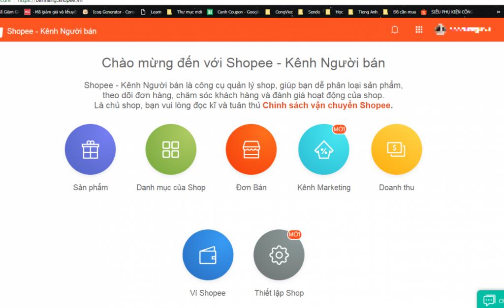 Hướng dẫn tạo mã giảm giá cho Shop trên Shopee cho cửa hàng