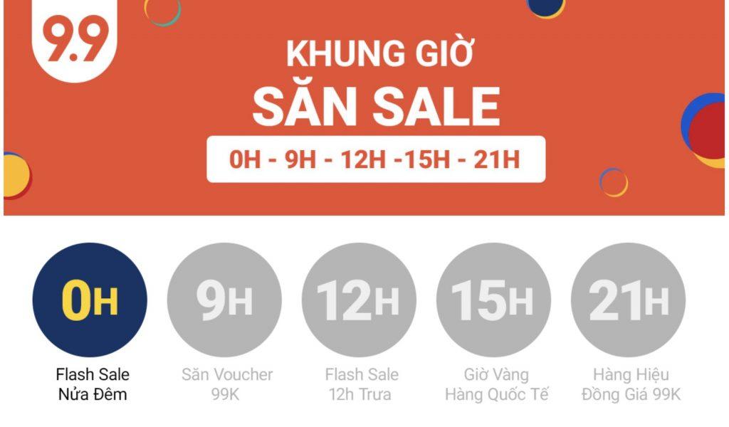 Shopee Sale 9.9 Ngày Siêu Mua Sắm Shopee