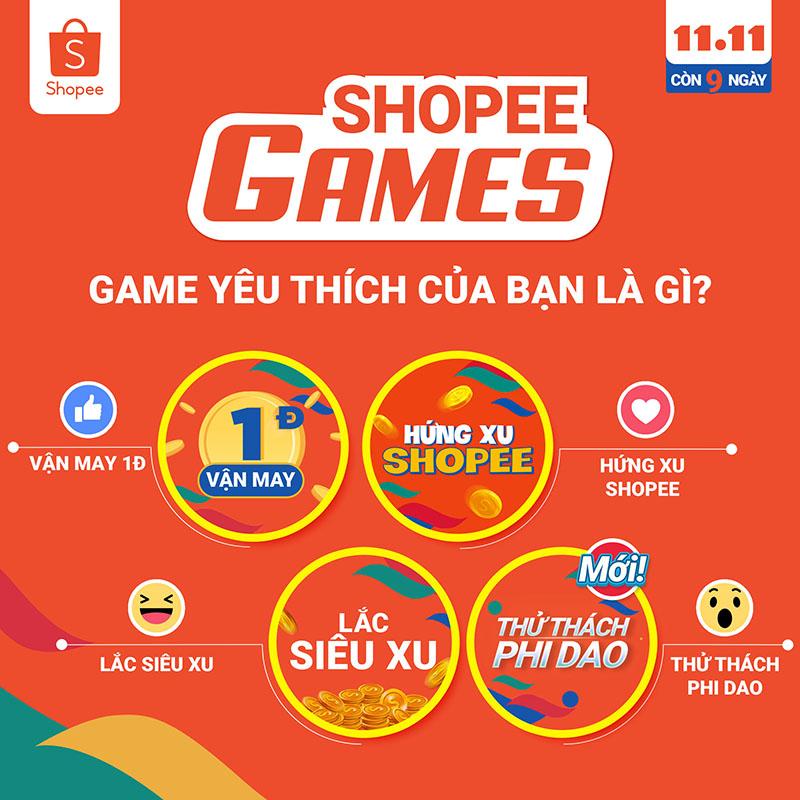 Hướng dẫn truy cập Game Shopee